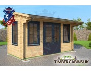 Log Cabin Isle of Wight 4.5m x 2m 001