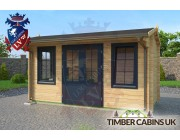 Log Cabin Isle of Wight 4.5m x 2m 002