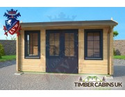 Log Cabin Isle of Wight 4.5m x 2m 003