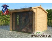 Log Cabin Kings Lynn 3.5m x 3m 002