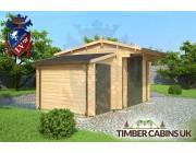 Log Cabin Mid Sussex 4.5m x 3m 001