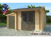 Log Cabin Mid Sussex 4.5m x 3m 002