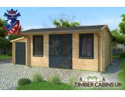 Log Cabin Newcastle-under-Lyme 6.5m x 4m 002