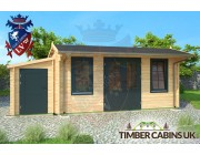 Log Cabin Newcastle-under-Lyme 6.5m x 4m 003