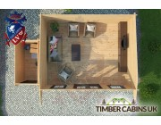 Log Cabin Newcastle-under-Lyme 6.5m x 4m 004