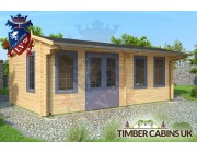 Log Cabin North Wiltshire 6.5m x 3.5m 001