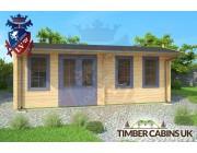 Log Cabin North Wiltshire 6.5m x 3.5m 003