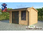 Log Cabin Norwich 4m x 3m 002