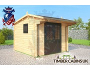 Log Cabin Perth & Kinross 3m x 3m 001