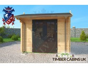 Log Cabin Perth & Kinross 3m x 3m 003