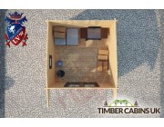 Log Cabin Perth & Kinross 3m x 3m 004
