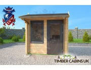 Log Cabin Preston 2.5m x 2.5m 003