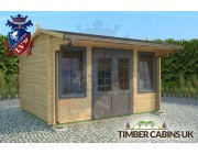 Log Cabin South Cambridgeshire 4m x 3m 001