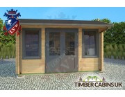 Log Cabin South Cambridgeshire 4m x 3m 003