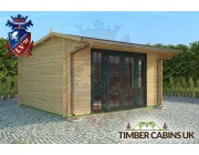 Log Cabin South Oxfordshire 4.5m x 4m 001