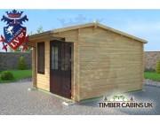 Log Cabin St Albans 3.5m x 3.5m 002