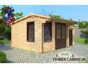 Log Cabin Stafford 5m x 3.5m 001