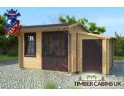 Log Cabin Stafford 5m x 3.5m 002