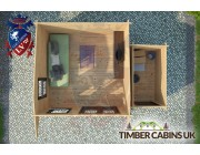 Log Cabin Stafford 5m x 3.5m 004