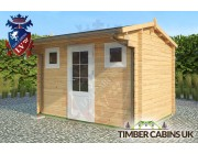 Log Cabin Tendring 3.5m x 2.5m 002