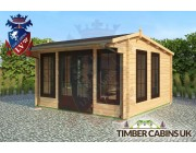 Log Cabin Thanet 4m x 4m 002