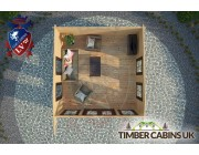 Log Cabin Thanet 4m x 4m 004