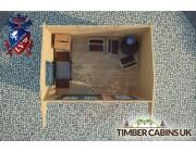 Log Cabin Thurrock 3.5m x 2.5m 004