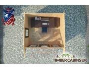Log Cabin Torbay 3.2m x 2.8m 004
