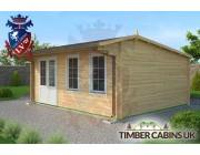 Log Cabin Warwick 5.5m x 4.5m 002