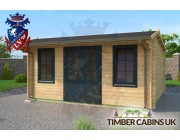 Log Cabin Wrexham 5m x 4m 002