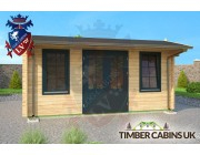 Log Cabin Wrexham 5m x 4m 003