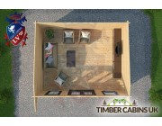 Log Cabin Wrexham 5m x 4m 004
