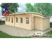 Log Cabin Aberdeen 10m x 4m 002