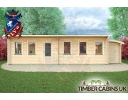 Log Cabin Aberdeen 10m x 4m 003