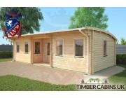 Log Cabin Aberdeenshire 9m x 4m 002