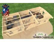 Log Cabin Aberdeenshire 9m x 4m 005
