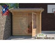 Log Cabin Aledale 2.35m x 1.75m 003
