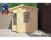 Log Cabin Aledale 2.35m x 1.75m 002