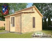 Log Cabin Angus 4m x 4m 002