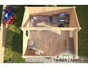 Log Cabin Angus 4m x 4m 004