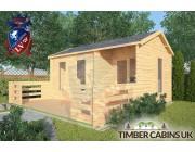 Log Cabin Arkholme 5m x 3m 002