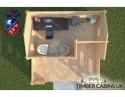 Log Cabin Arkholme 5m x 3m 004