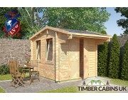Log Cabin Ashfield 2.35m x 2.95m 001