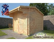 Log Cabin Ashfield 2.35m x 2.95m 002