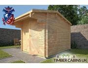 Log Cabin Ashfield 2.35m x 2.95m 002