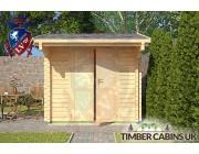 Log Cabin Ashfield 2.35m x 2.95m 003