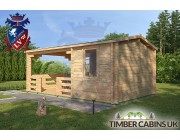 Log Cabin Ashfield 5.4m x 3.3m 003