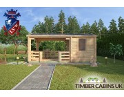 Log Cabin Ashfield 5.4m x 3.3m 002