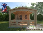 Log Cabin Ashfield 5.4m x 3.3m 004
