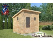 Log Cabin Ashton-under-Lyne 2.5m x 2m 001